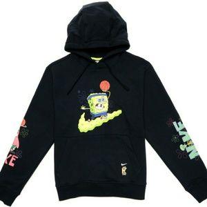 spongebob hoodie kids nike